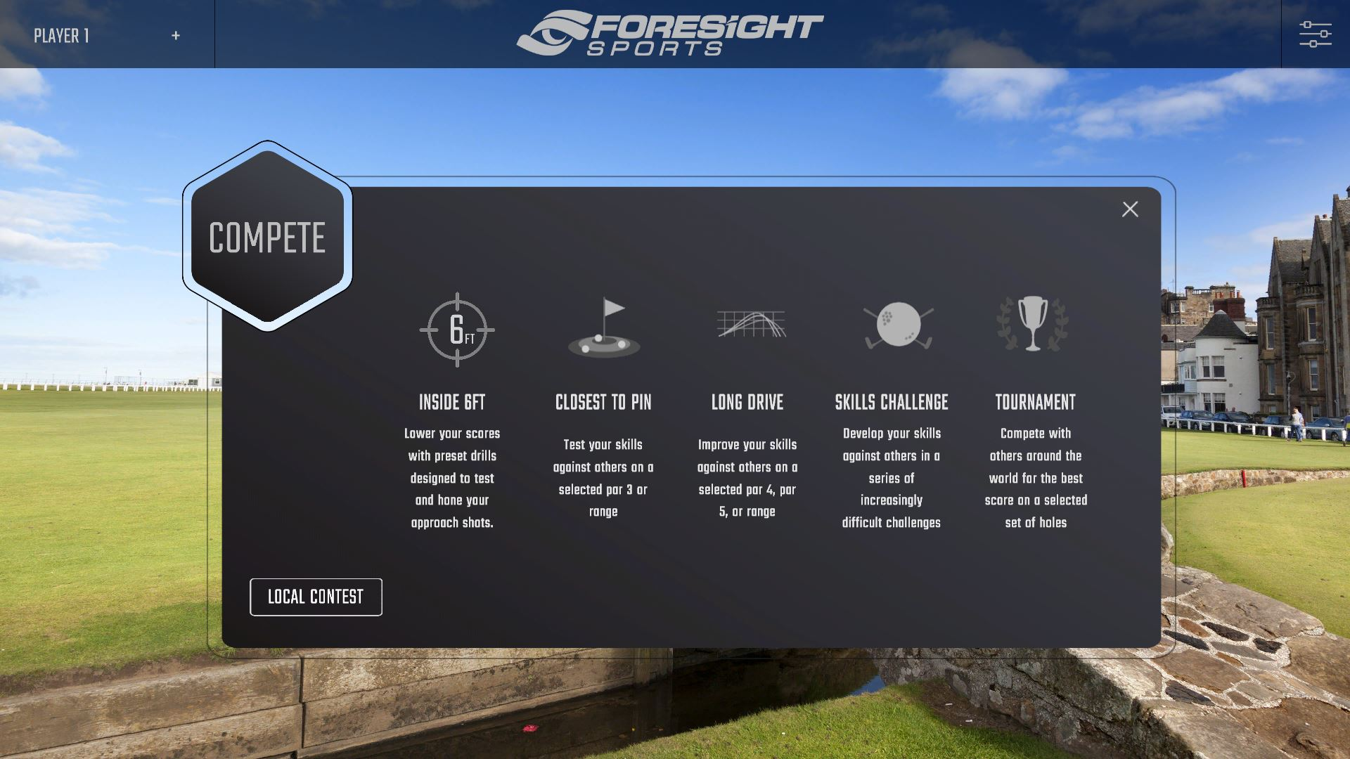 Inside Six Feet User Guide | Foresight Sports