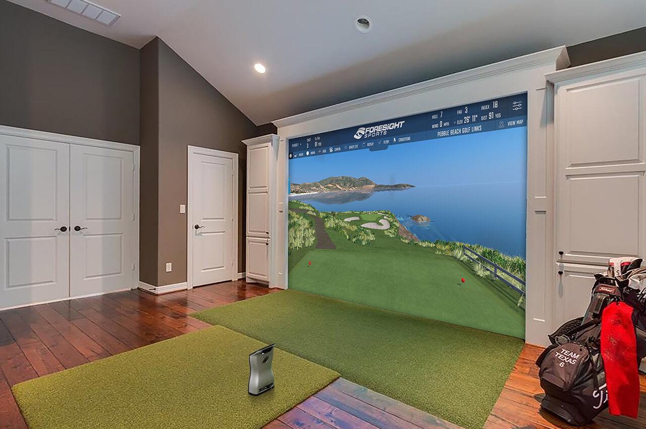 Build Your Own Garage >> Golf Simulator - Indoor Virtual Golf Simulator | Foresight Sports