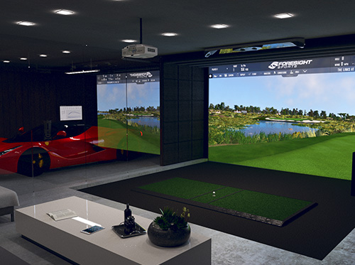 Foresight Simulator Garage Conversion