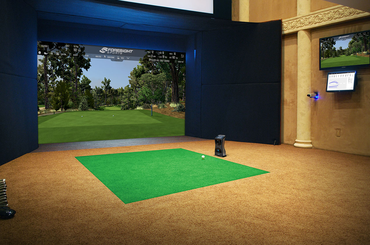 Golf Simulators Residential Foresight Sports