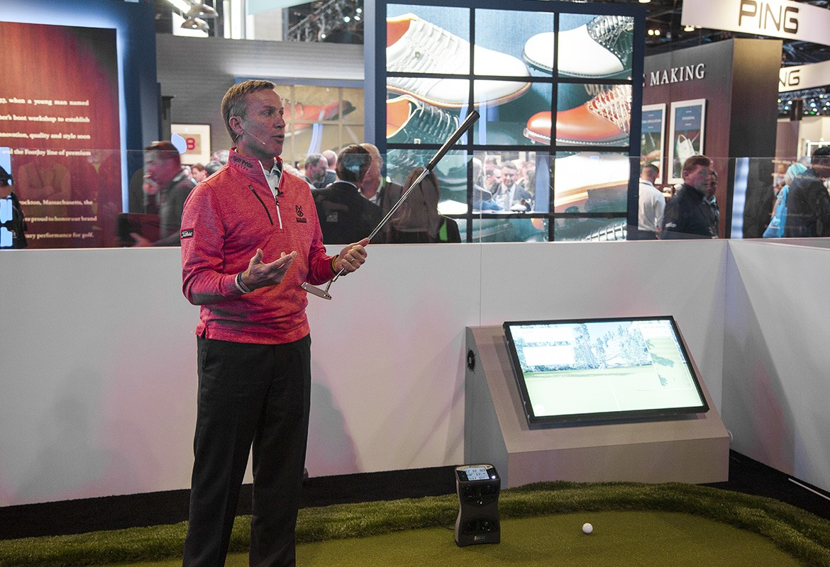 Michael Breed Demonstrating