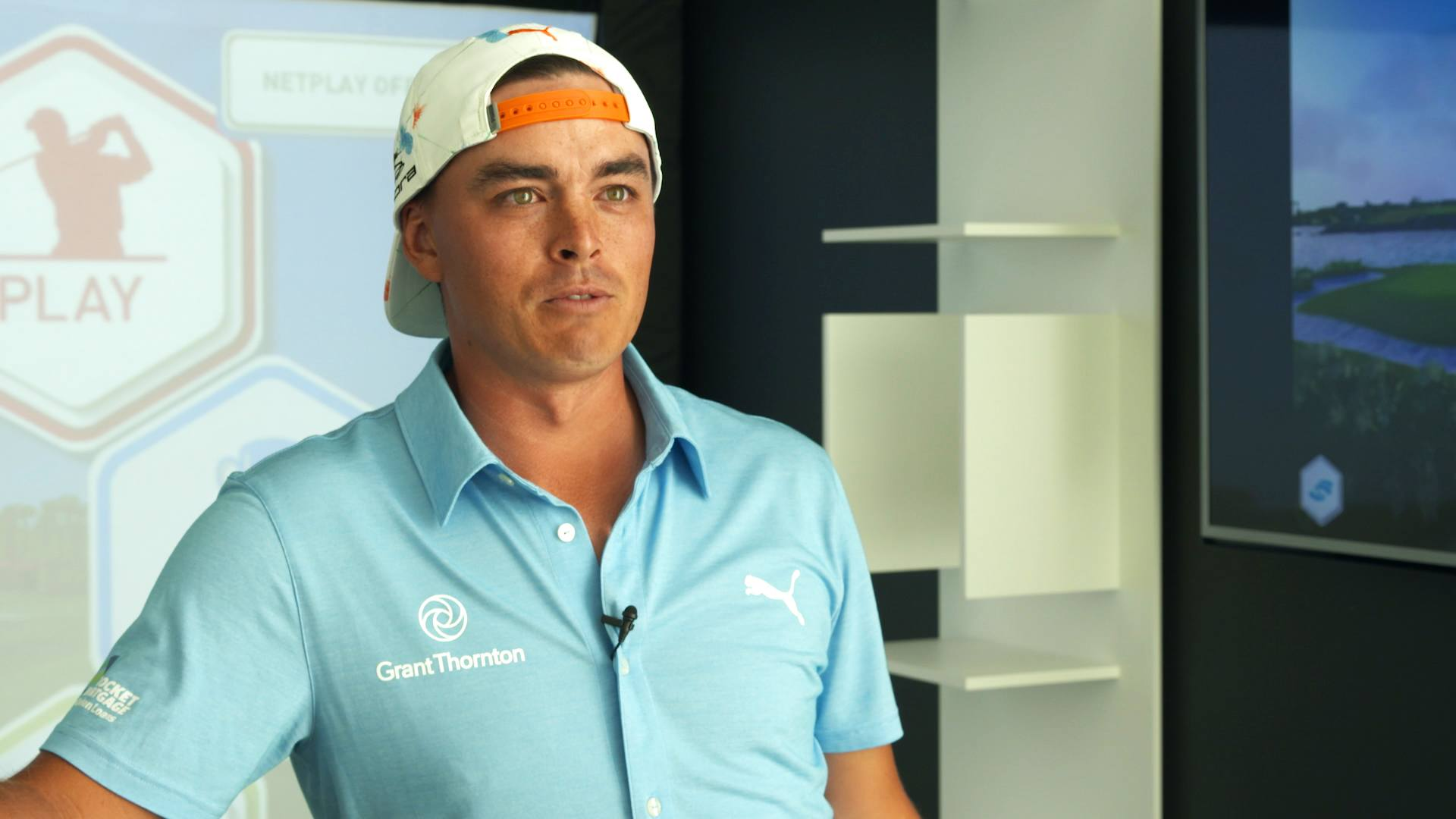Rickie Fowler on training at home