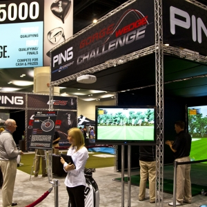 PING Hitting Bay, PGA Merchandise Show - Orlando, FL
