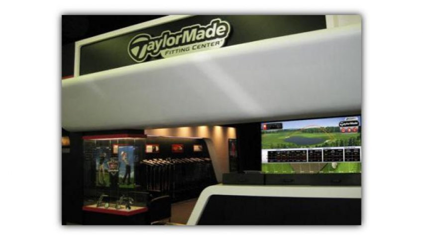 A TaylorMade Fitting Center store.